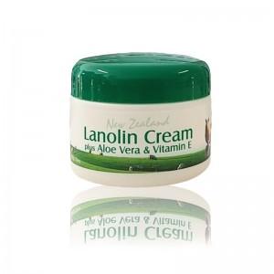 New Zealand Lanolin Cream Plus Aloe Vera & Vitamin E 100g