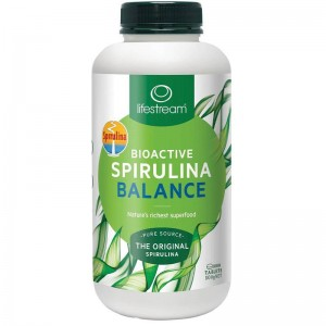 Lifestream Bioactive Spirulina 500mg 1000 Caps