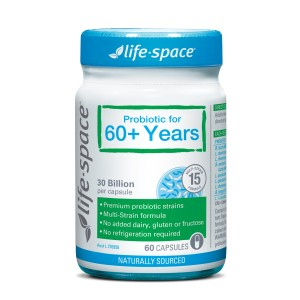 Life space Probiotic for 60+ Years Capsule 60
