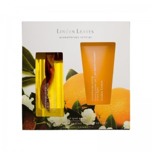 【包邮】Linden Leaves甜橘身体油沐浴露 补水保湿清洁(250ml 200ml)