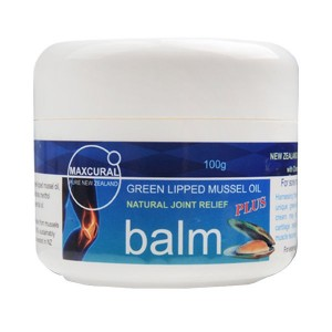 Maxcural Green Lipped Mussel Oil Balm 100g NATURAL JOINT RELIEF