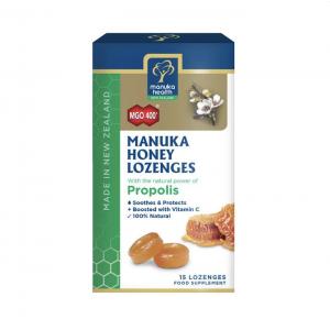 Manuka Health Manuka Honey Lozenges Propolis 15 Pack 65g