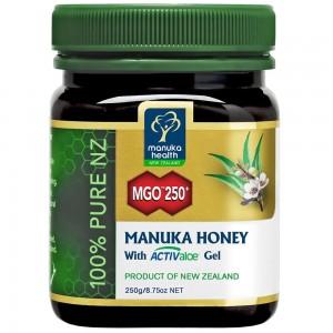 manuka health 蜜纽康麦卢卡蜂蜜 MGO250+ 含活性芦荟胶 250g