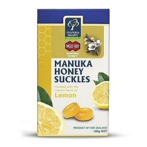 manuka health 蜜纽康 柠檬味蜂胶润喉糖 100g