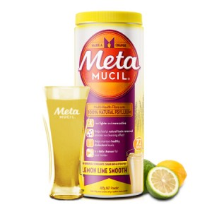 Meta Mucil Multi-health fibre with 100% natural psyllium Lemon Lime smooth 425g
