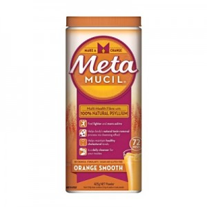 Meta Mucil Multi-health fibre with 100% natural psyllium orange smooth 425g