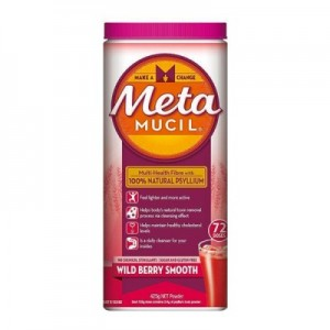 Metamucil Sugar-Free Berry Smooth Powder 425g