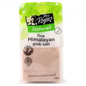 Mrs Rogers 喜马拉雅天然粉盐400g (玫瑰盐)