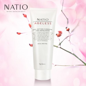 Natio Dual Action Cleanser and Exfoliator 100g