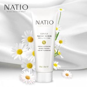 Natio娜缇欧芳香疗法系列温和面部磨砂膏100g