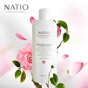 Natio Rosewater Hydration Antioxidant Micellar Cleansing Water 250ml