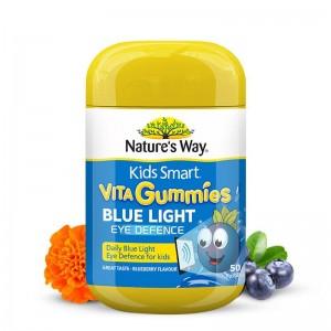 Natures Way Kids Smart VitaGummies Blue Light Eye Defence 50 Caps