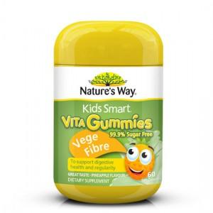 Natures Way Kids Smart Vita Gummies Vege Fibre 60 Caps