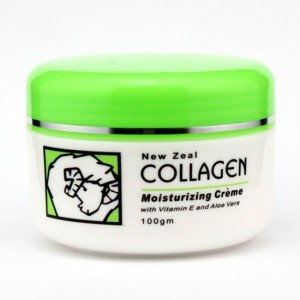 New Zeal Collagen Lanolin Cream with VE and Aloe Vera 100g