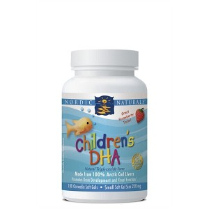 Nordic Naturals Children's DHA - Chewable 180 Caps