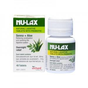 Nu-lax-tablet 乐康膏片 含益生菌 40片