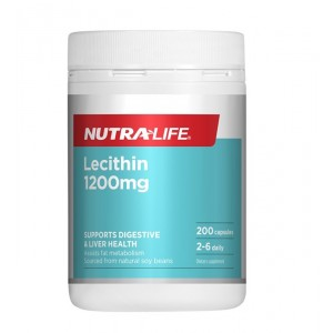 Nutralife Lecithin 1200mg 240 Caps