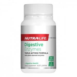 Nutralife 纽乐植物水果消化酶 酵素 60粒