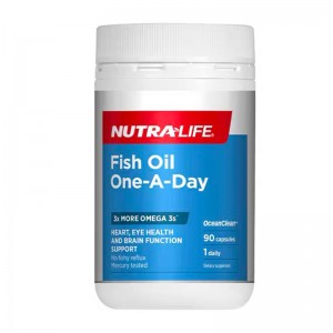 Nutralife Fish Oil One-A-Day 90 Caps