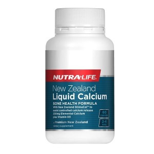 Nutralife Liquid Calcium With StimuCal Plus Vitamin D3 60 Caps