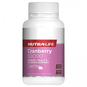 Nutralife Cranberry 50,000mg 100 Caps