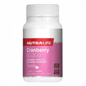 Nutralife Cranberry 50,000mg 50 Caps
