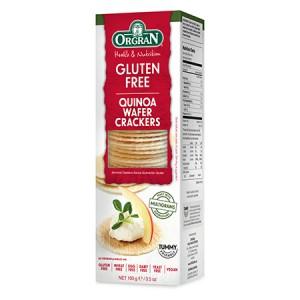ORGRAN 无麸质藜麦威化饼干100克