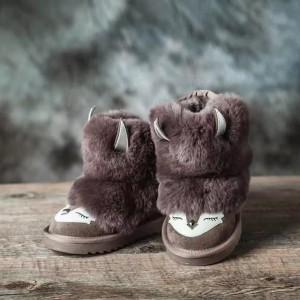 【澳洲直邮】OZWEAR UGG OB296/297 三维立体动物儿童雪地靴