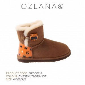 【澳洲直邮】OZLANA UGG  OZ0002-9 Front Row Cat 成人网红猫雪地靴