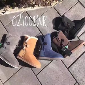 【澳洲直邮】OZLANA OZ1002WR 防水防尘基本款 中筒单扣雪地靴