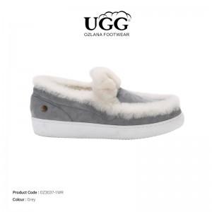 【澳洲直邮】OZLANA UGG OZ3037-1WR 秋冬新款 少女优雅甜心兔 毛豆豆鞋