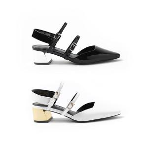 【澳洲直邮】OZLANA UGG OZ3045 春夏新款 春意仙履系列 尖头时髦金属跟凉鞋 5cm鞋跟