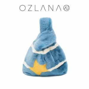 OZLANA UGG 哥本哈根SAGA天鹅绒水貂棉花糖包包 (含双肩背带)