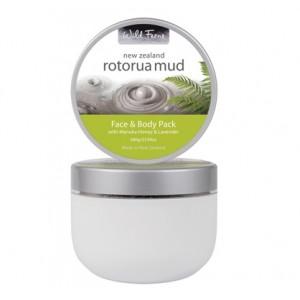 Parrs Wild Ferns Rotorua Mud Face & Body Pack with Manuka Honey & Lavender 680g