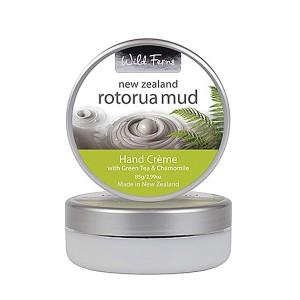 Parrs Wild Ferns Rotorua Mud Hand Creme with Green Tea & Chamomile 85g