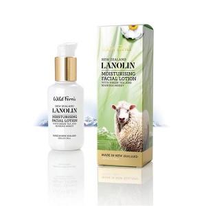 Parrs 帕氏 Wild Ferns 绵羊油保湿乳液 含绿茶和麦卢卡蜂蜜 100ml