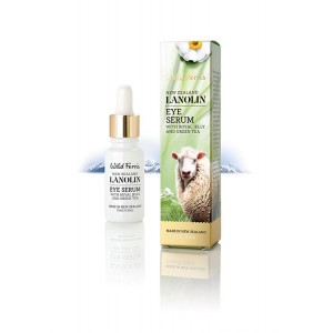Parrs Wild Ferns Lanolin Eye Serum With Royal Jelly And Green Tea 15ml