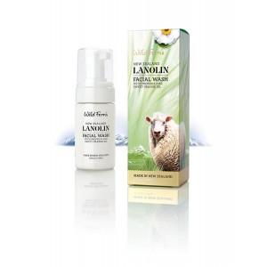 Parrs 帕氏 Wild Ferns 绵羊油 洁面乳140ml 含苹果精华和橄榄叶萃取物