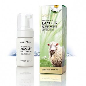 Parrs Wild Ferns LANOLIN Facial Wash with Propolis and Sweet Orange