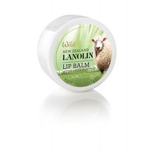 Parrs Wild Ferns Lanolin Lip Balm With Shea Butter 15g