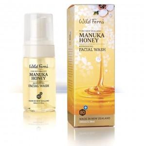 Parrs Wild Ferns Manuka Honey Refreshing Facial Wash 100ml