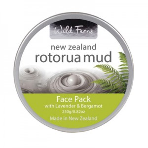 Parrs Wild Ferns Rotorua Mud Face Pack with Lavender & Bergamot 250g