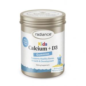 Radiance Kids Gummies Calcium + D3 60 Gummies