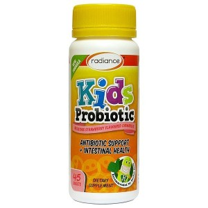Radiance 儿童益生菌咀嚼片草莓味45片