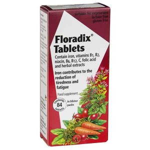 Floradix Tablets 84 Caps