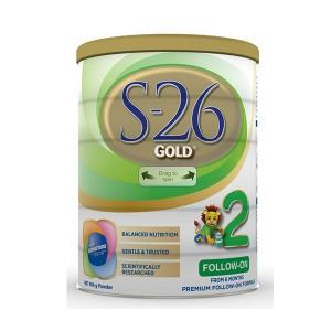 【新西兰直邮】S26 惠氏S26金装2段 适合6-12个月宝宝 6罐包邮 保质期2020-08