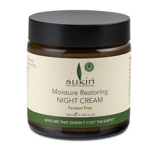 Sukin 苏芊 保湿修护 补水滋润修复抗氧化 晚霜 120ml