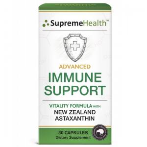 SupremeHealth 天然虾青素 超级强化免疫胶囊 30粒