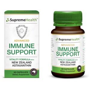 SupremeHealth 天然虾青素 超级强化免疫胶囊 60粒