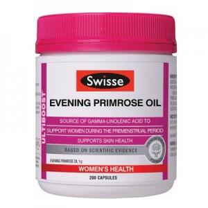 Swisse Evening Primrose Oil 200 Caps